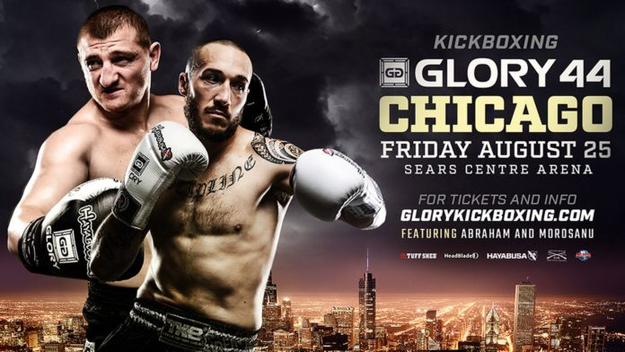 Kickboxing show Glory 44 is held on August 25 in Chicago