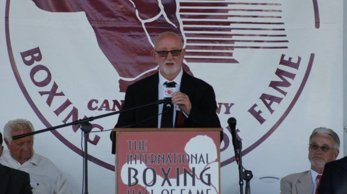 Australian boxing trainer Johnny Lewis inducted into the IBHOF