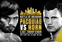 Boxing - Pacquiao vs Horn undecard
