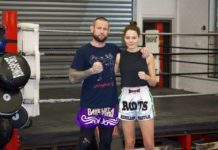Perth Muay Thai training with Rob Powdrill