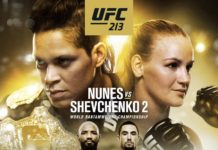 UFC 213 fight card: eight bouts announced