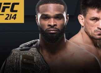 Tyron Woodley vs Demian Maia added to UFC 214 fight card