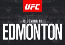 UFC 215 is held Edmonton on September 9