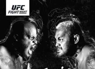 UFC Auckland fight card