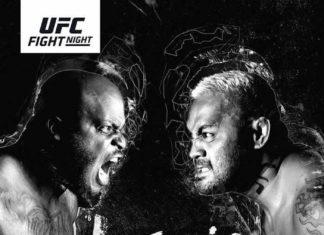 UFC Auckland fight card