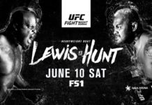UFC Auckland: Lewis vs Hunt - promo video