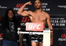 UFC Fight Night Oklahoma City official weigh-in results