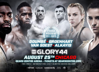 Kickboxing Glory 44 Chicago full fight card