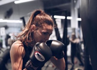 Model Lilian Dikmans uses Muay Thai workout to help maintain body shape