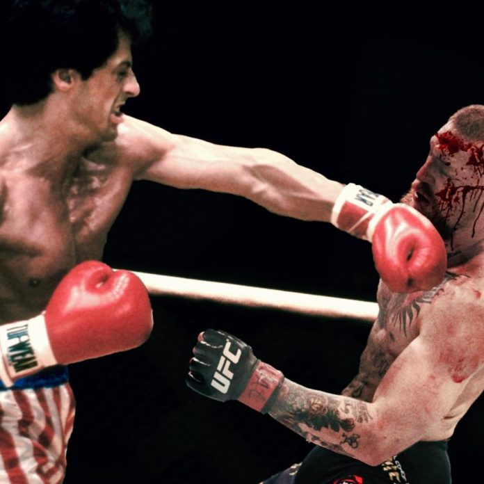 Sylvester Stallone, Rocky punches Conor McGregor