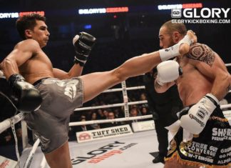 Antoine Pinto faces Zach Bunnell at kickboxing event Glory 44 Chicago