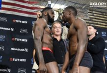 Kickboxing Glory 44 Chicago weigh-in results