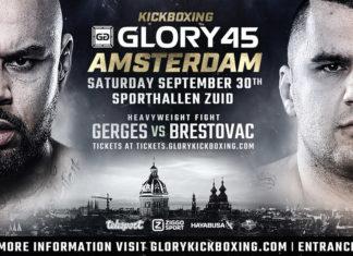 Kickboxing Glory 45 Amsterdam full fight card