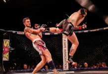 John Wayne Parr defeats James Heelan at Caged Muay Thai 10 Brisbane