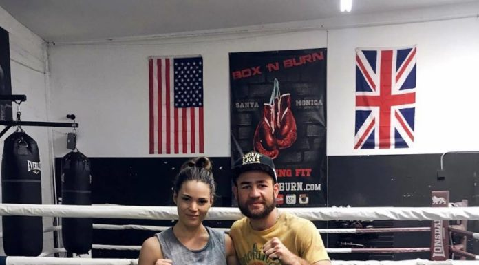 LA boxing training experience