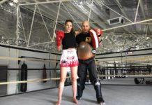 Perth Muay Thai training