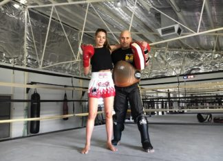 Perth Muay Thai training