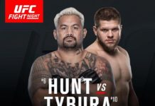 UFC Fight Night Sydney: Mark Hunt vs Marcin Tybura