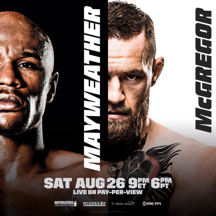 McGregor prepares for big bout with Mayweather