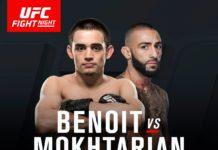 UFC Sydney Mokhtarian vs Benoit