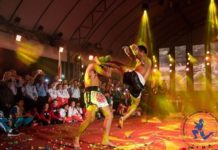 Muay Thai show Saenchai vs Sudsakorn at IFMA Youth World Championships