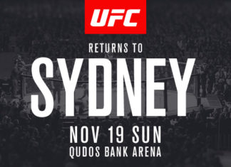 UFC Sydney fight card update