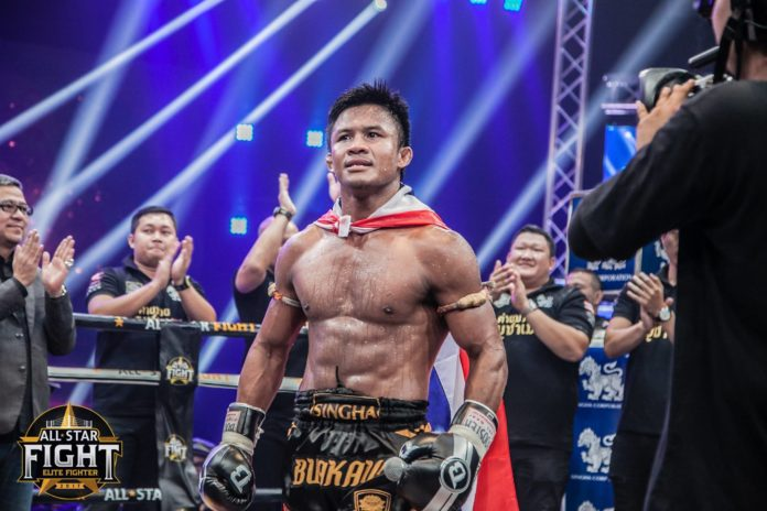 Muay Thai, Buakaw Banchamek next fight at All Star Fight 2
