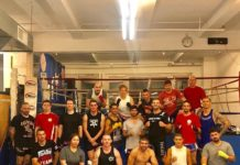 Muay Thai Carnage Elbow technique seminar in New York