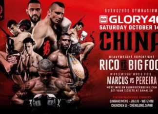Kickboxing, Glory 46 China poster