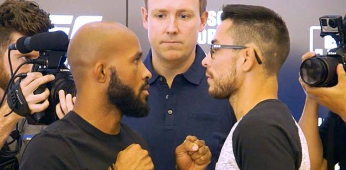UFC 216 Johnson vs Borg