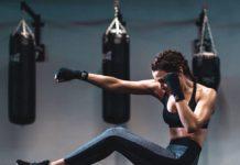 Women's Muay Thai boxing active wear