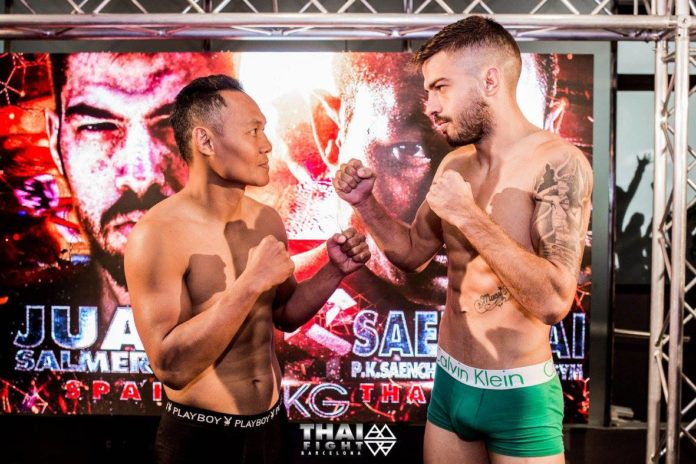 Muay Thai Fight Barcelona, Saenchai