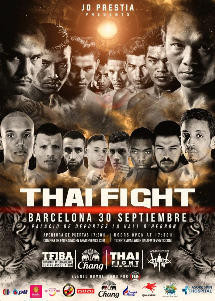 Muay Thai, Thai Fight Barcelona event poster