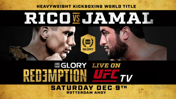 Glory 49 Rico vs Jamal live on UFC Pay-Per-View