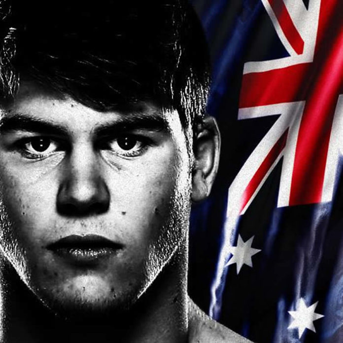 Jake Matthews partakes in UFC Sydney Fight Night