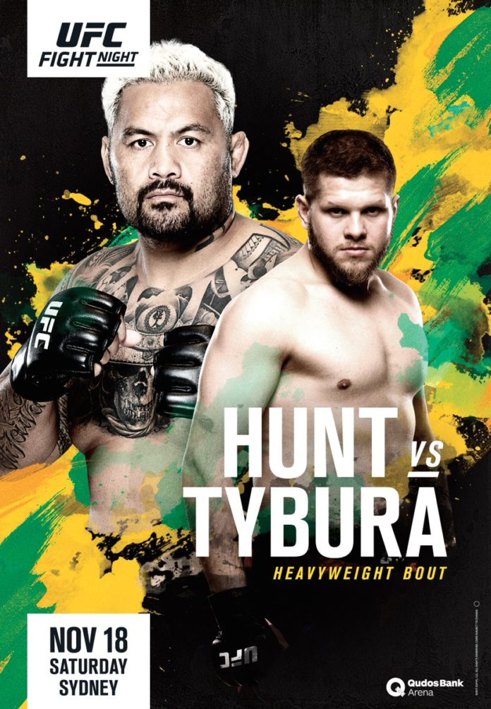 UFC Fight Night Sydney poster