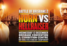 Battle of Brisbane 2, Jeff Horn vs Gary Corcoran