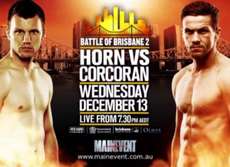 Jeff Horn vs Gary Corcoran live on Main Event