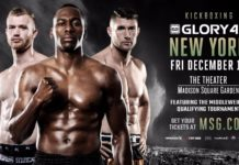 Kickboxing Glory 48 New York fight card