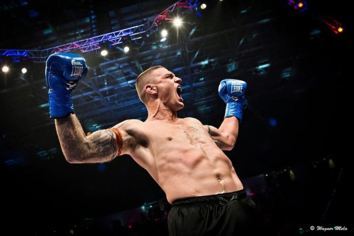 John Wayne Parr victorious by knockout at Bellator Kickboxing
