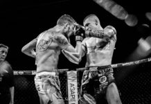 Caged Muay Thai, John Wayne Parr vs James Heelan