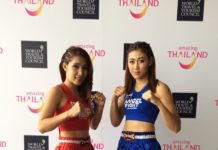 Muay Thai Angels season 2, weigh-ins