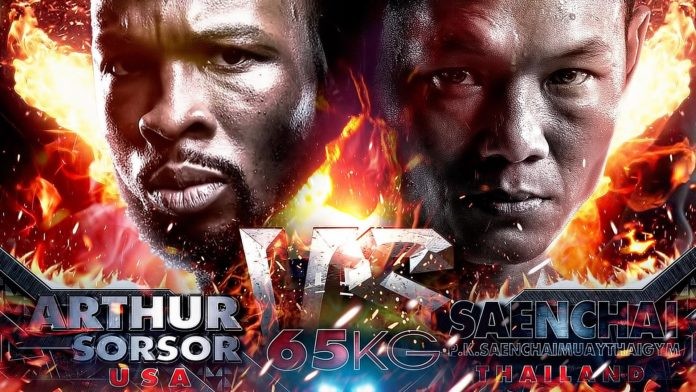 Saenchai vs Arthur Sorsor, Khmer - Thai Fight