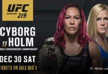 UFC 219 Cyborg vs Hold