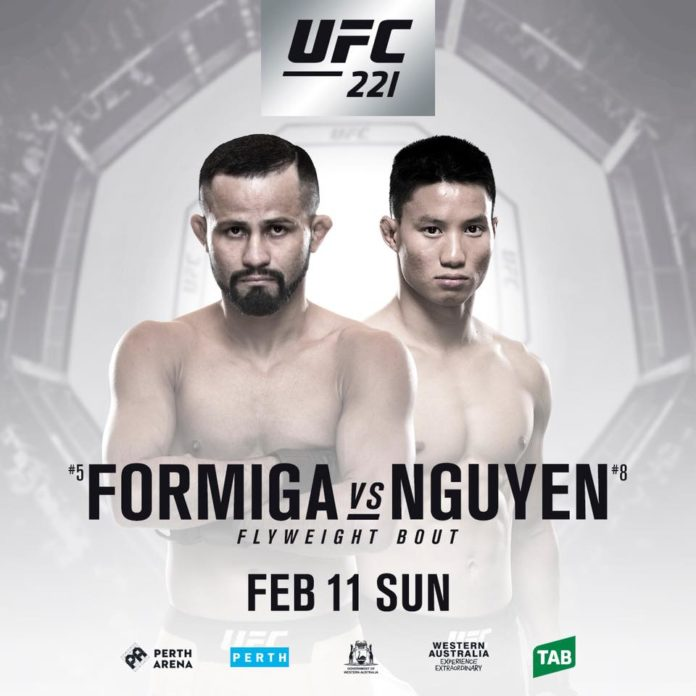 UFC 221 Perth fight card in the making