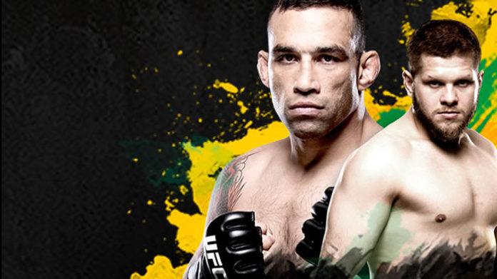 UFC Sydney fight card