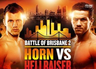 Battle of Brisbane 2: Horn vs Corcoran
