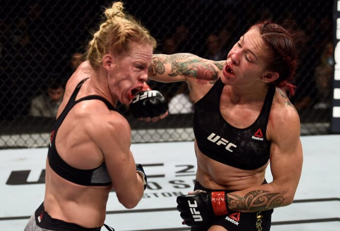 Cris Cyborg defeats Holly Holm at UFC 219