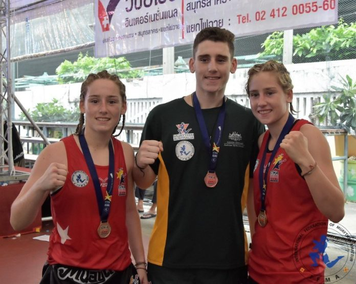 Curtain Family at IFMA Muay Thai Youth World Championships