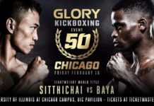 Kickboxing Glory 50 Chicago